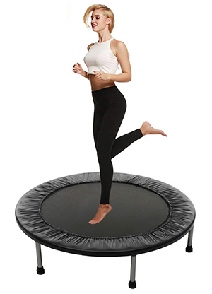 Balanu Indoor Fitness Rebounder Trampoline for Adults