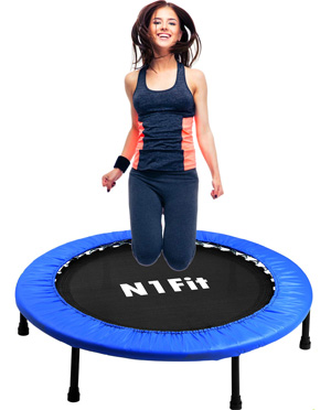N1Fit Mini Trampoline for Adults