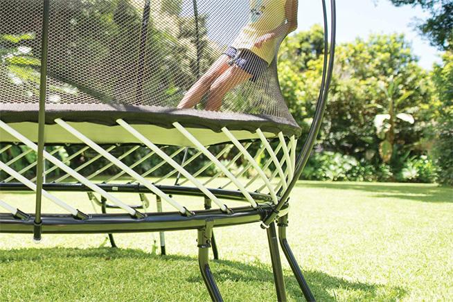best square trampoline