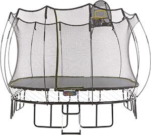 springless best square trampoline