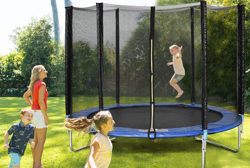 trampoline jumping benefits